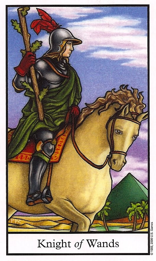 Tarot Knight Of Wands: Knight Of Wands