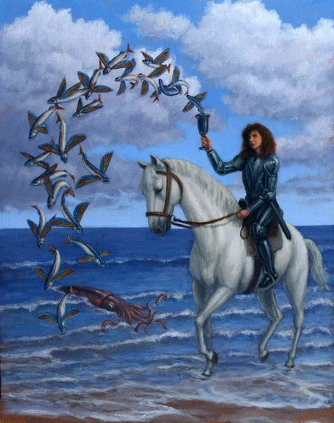 Image result for knight of cups tarot
